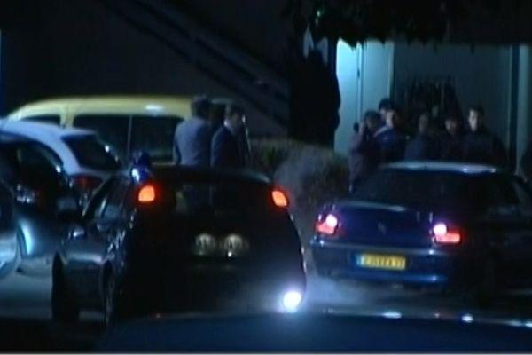 Capture de la vidéo exclusive de l'arrestation de Redoine Faïd, arrêté le 29 mai 2013 à Pontault-Combault.