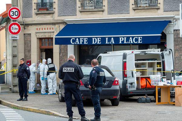 Rue Raquin à Montluçon où les corps de 2 septuagénaires ont été découverts