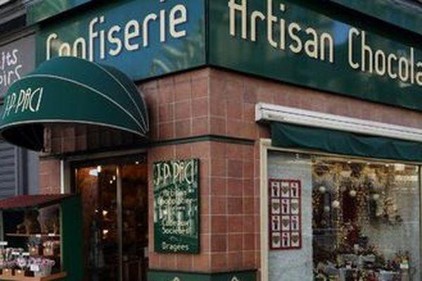 Le chocolatier Jean-Patrice Paci reste ouvert pour Pâques à Nice.