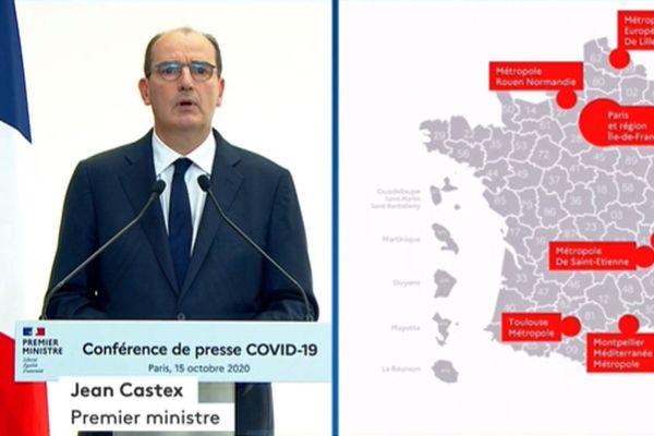 Jean Castex le 15 octobre 2020