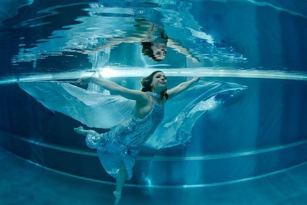 L'une des photos subaquatiques ayant permis à Thierry Rolland de remporter le titre de champion de France