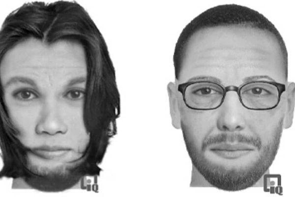 Portraits robots des suspects
