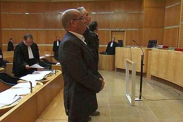 Montpellier - 10 des 12 prévenus devant le tribunal correctionnel - 29 mars 2016.