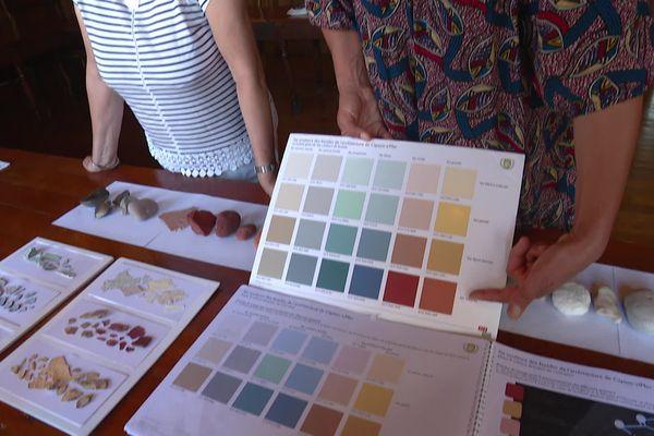 Les couleurs proposées par la charte chromatique qui sera insérée au plan local d'urbanisme de Cayeux-sur-Mer
