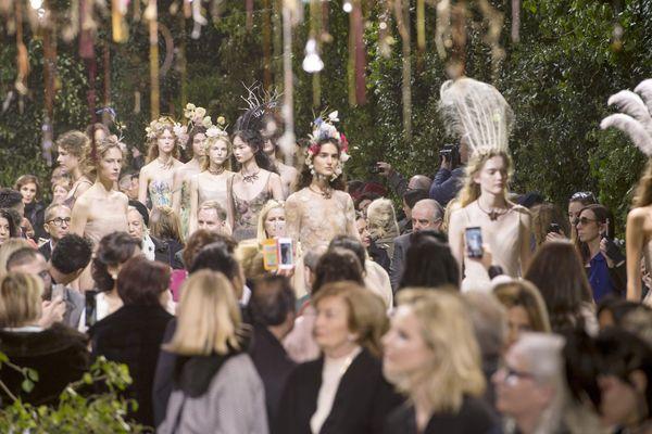 Le défilé Dior collection femme printemps-été 2017.
