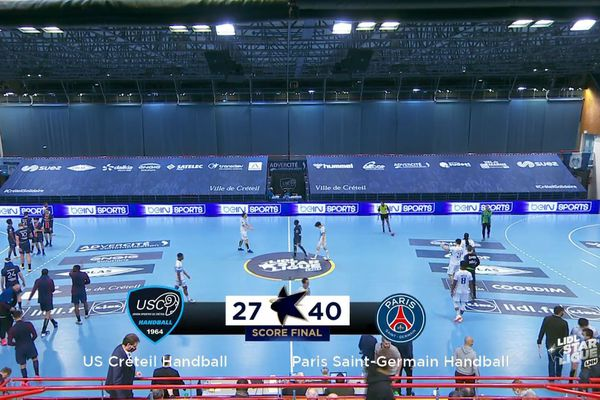 Le PSG Handball poursuit sa série de victoires en ligue nationale en l'emportant 40 à 27 face à l'US Créteil.