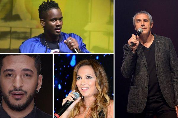 Black M, Julien Clerc, Slimane, Hélène Ségara...