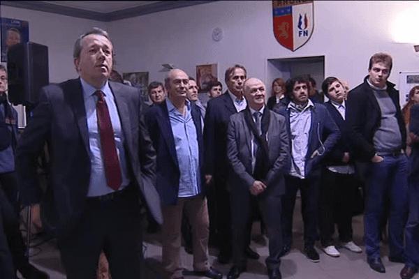 20h à la permanence du candidat frontiste Christophe Boudot - 13/12/15