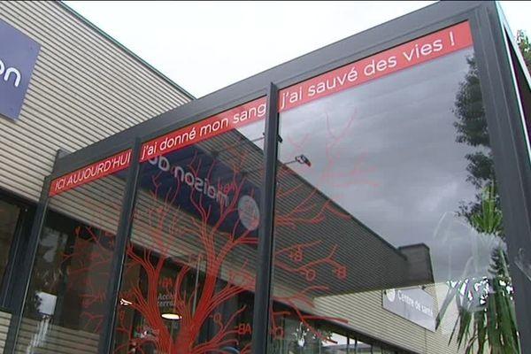 La Maison du don est installée 2 rue du Stade, à Dijon