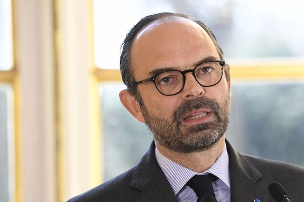 Le Premier ministre Edouard Philippe à Matignon.