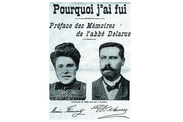"""Les confessions du curé de Châtenay et de sa compagne ont été publiées dans le journal """"Le Matin"""", sous forme de feuilleton."""