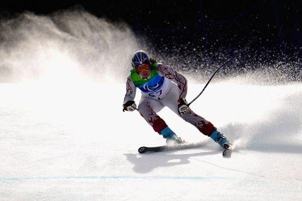 Solene Jambaqué, lors des derniers jeux paralympiques à Vancouver en 2010.