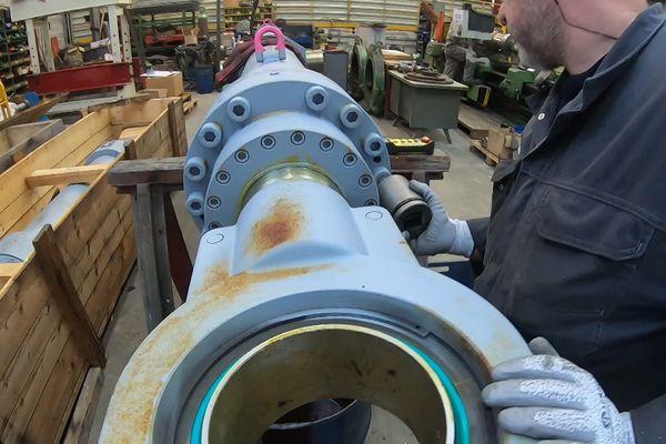 Atelier de Madore hydraulique à Limoges.