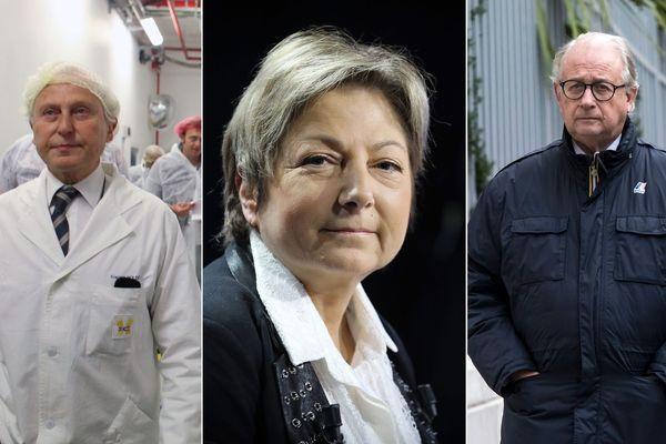 De gauche à droite : Francis Holder, Natacha Bouchart et Bernard Gérard.