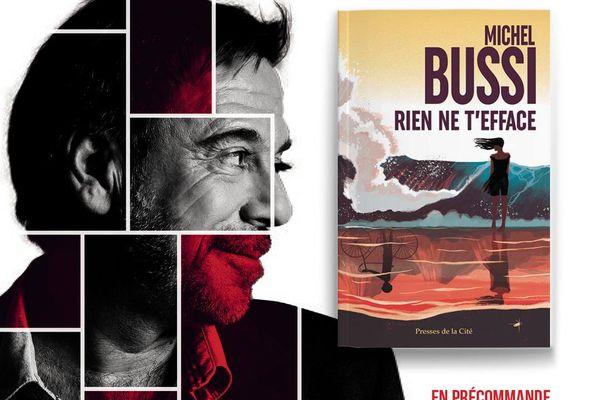 """""""Rien ne t'efface"""", le nouveau roman de Michel Bussi."""