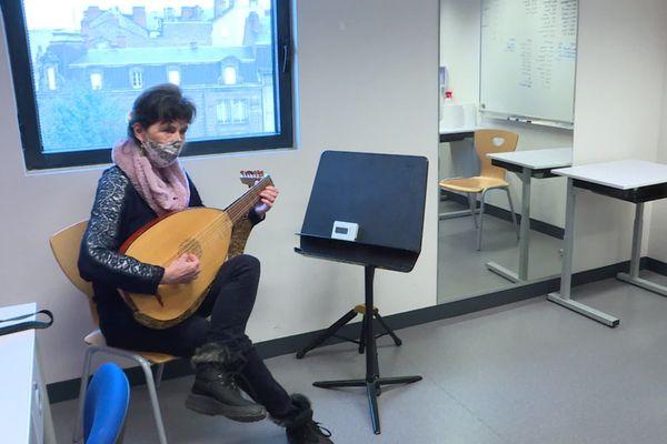 Les cours ont pu reprendre en présentiel pour les mineurs au conservatoire de Limoges.