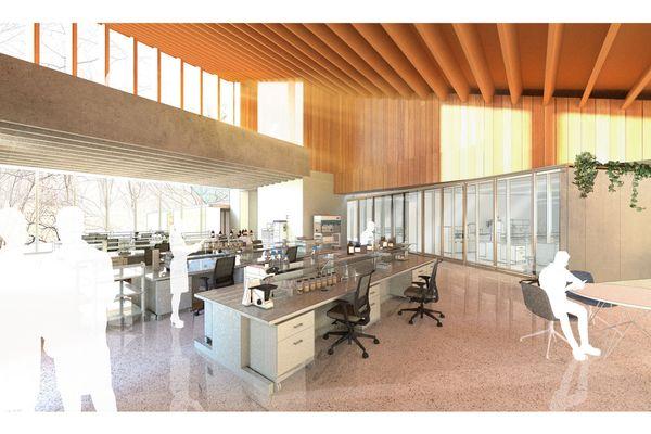 Le coût de la construction du centre de recherche est estimé à 25 millions d'euros.