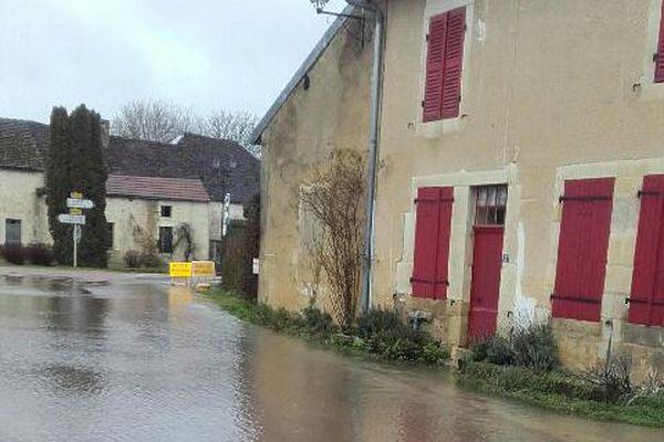 Dinteville, Haute-Marne, 22 janvier 2018