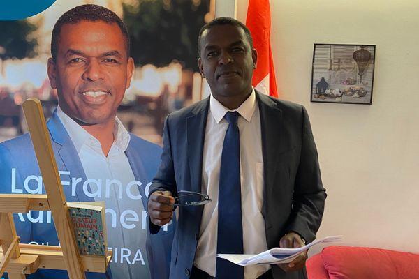 Gildas Vieira, président du Mouvement citoyen La France Autrement dans le Loir-et-Cher, se lance dans la course à l'élection présidentielle 2022.