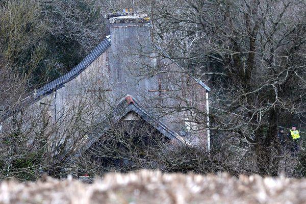 Les recherchez pour retrouver les corps de la famille Troadec se sont orientées vers cette maison dans le Finistère