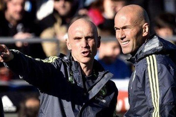 David Bettoni, adjoint de Zidane au Real Madrid
