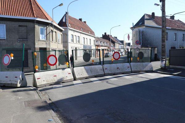 Les commerces belges séparés de leurs clients français.