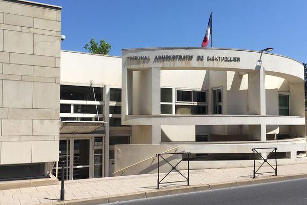 Montpellier - le tribunal administratif - archives