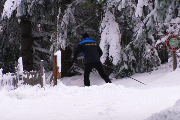 Ski nordique aux Bouviers
