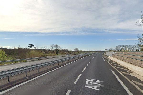 Hérault - le corps calciné d'un homme a été découvert le 3 juillet 2021 en contrebas de l'autoroute A75 aux abords de la rue des Calquières Hautes, à Pézenas. Archives.