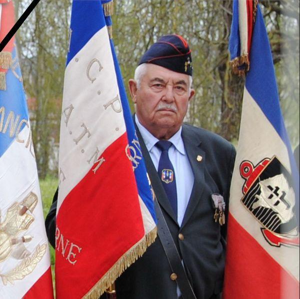 Maurice Flécheux, 85 ans, était l'un des piliers des porte-drapeaux de Châlons-en-Champagne
