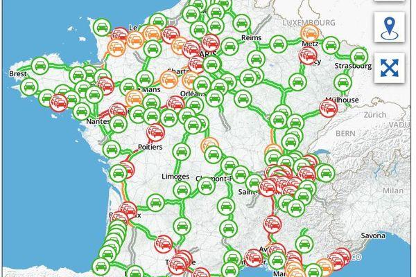 la journée du 9 mai sera très chargée dans la vallée du Rhône
