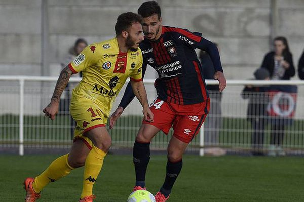 L'US Quevilly Rouen Métropole a battu le Stade Malherbe ce vendredi soir à Dives-sur-Mer