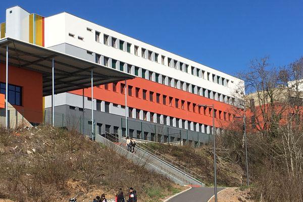Le lycée Léon Blum au Creusot