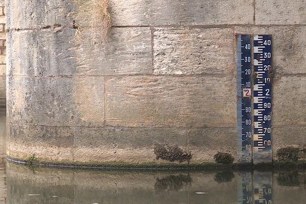 Depuis le mois d'août, les chutes de pluie sont en-dessous des normales de saison.