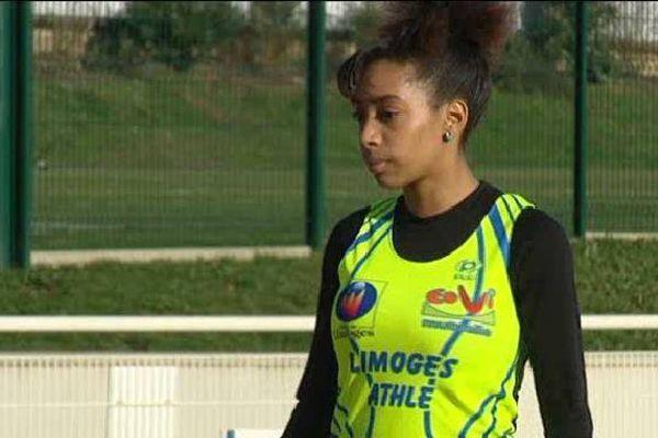 La championne de France de triple-saut Jeanine Assani-Issouf concourt pour une place en finale