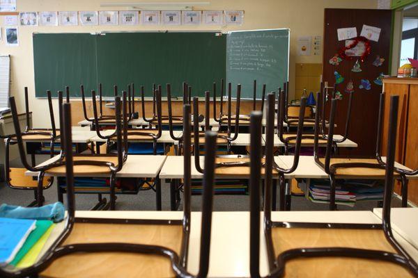 La fermeture des écoles en France