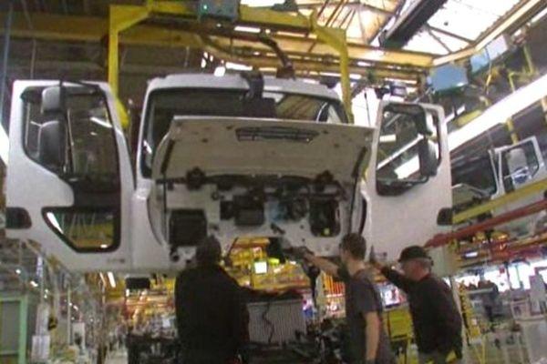 Des mesures de chômage partiel pourraient entrer en vigueur chez Renault Trucks en janvier, notamment à Blainville-sur-Orne