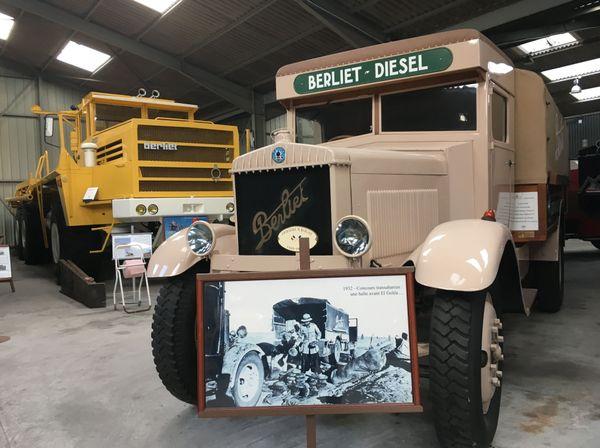 Les camions de la Fondation Berliet
