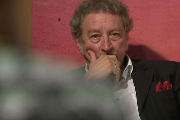 Le réalisateur Robert Guédiguian lors du 40ème festival du Cinemed à Montpellier - 24 octobre 2018