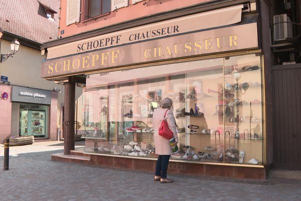 Créée sous Napoléon III, la boutique de la famille Schoepff vend des chaussures depuis 169 ans en plein cœur de Sélestat.