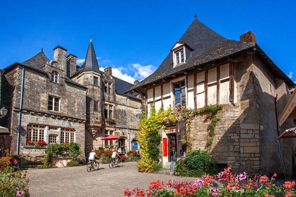 Rochefort-en-Terre, petite cité de caractère - Morbihan