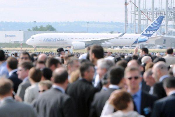 La foule et la passion des employés d'Airbus hier à Toulouse