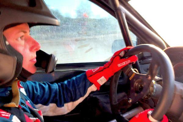 Critérium des Cévennes - Sarah Rumeau sera pilote, c'est son premier Rallye dans cette compétition - octobre 2021.