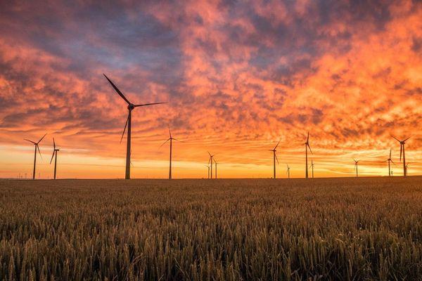 La Beauce est la zone qui concentre le plus d'éoliennes en région Centre-Val de Loire. Photo d'illustration