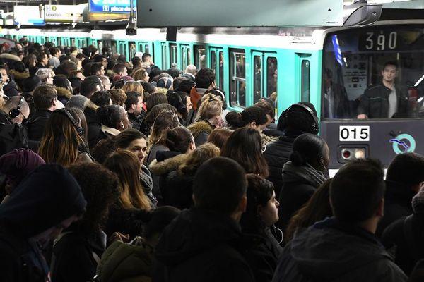 La grève dans les transports en commun en Ile-de-France avait duré plus d'un mois.
