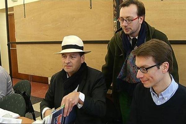 David Lanaud du Gray dépose sa liste pour les municipales de Dijon.