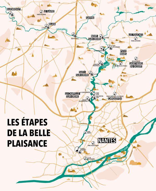 Belle plaisance/Les Rendez-vous de l'Erdre/Le parcours 2019