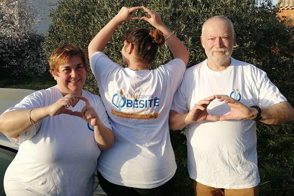 Catherine Fabre et sa famille se mobilisent à l'occasion de la journée mondiale de l'obésité.