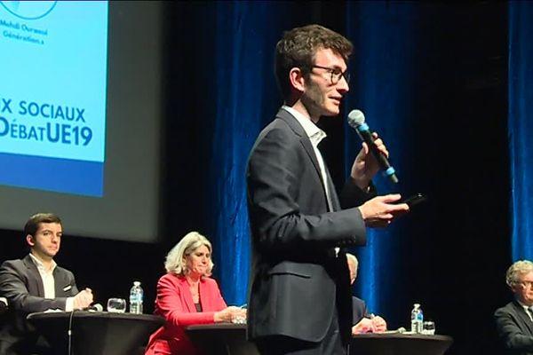 Un débat européen organisé le 12 mars à Bordeaux, à deux mois du scrutin.