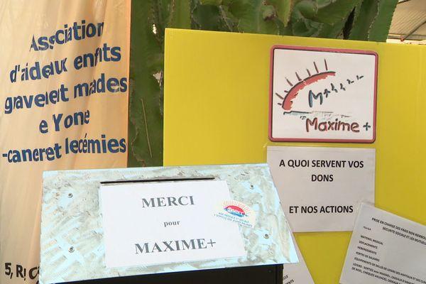 Dans l'Yonne, l'association Maxime+ peine à collecter des fonds en cette fin d'année.